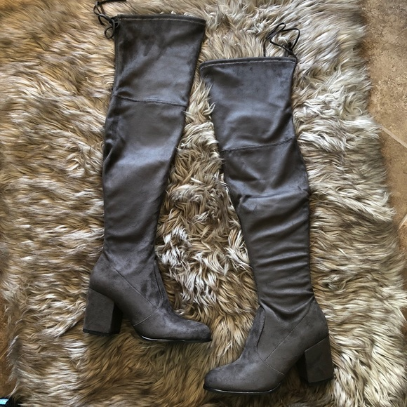 7ff594b3141 NIB Steve Madden Slayer over the knee boot